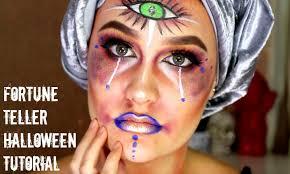 Fortune Teller Halloween Costume Freaky Fortune Teller Halloween Makeup Tutorial Sfx Makeup