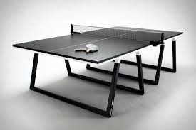 white ping pong table puma blackout ping pong table uncrate