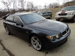 used 2002 bmw 745i for sale 2002 bmw 745i for sale in cincinnati oh stock 10539