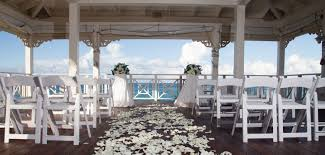 caribbean wedding venues outside at awesome wedding ceremony venue