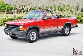 1989 dodge dakota sport convertible just 72 833 1989 dodge dakota convertible loaded and