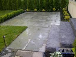 Cutting Patio Pavers Grey Paving Stone Grey Outdoor Flooring Slabs Bolton Gta