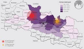 Nepal On A World Map by Nepal Earthquake Facts And Figures Un Dispatch