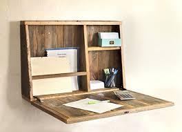 Wall Mounted Desk Diy Home Design Pretty Diy Wall Mounted Folding Desk Fold Away