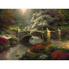 thomas kinkade halloween everett u0027s cottage u2013 limited edition art the thomas kinkade company