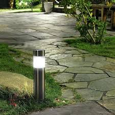 Landscape Lighting Reviews Solar Landscaping Lights Lot Solar Outdoor Garden Path Lawn Light