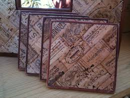 wine cork coasters from u0027one of a cork u0027 60 available at