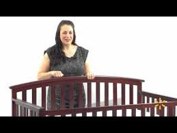 Cherry Convertible Crib Graco Freeport 4 In 1 Fixed Side Convertible Crib Classic Cherry