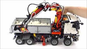 lego subaru brz lego technic mb arocs 3245 the awesomer