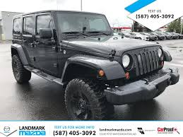 grey jeep rubicon lifted used 2012 jeep wrangler unlimited 4x4 lifted 4 door sport utility