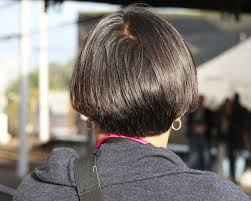 bob hairstyle cut wedged in back stacked bob hairstyles back view 30 perfect stacked hairstyles