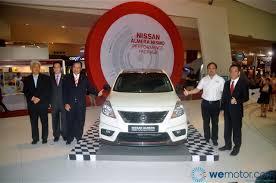 nissan almera nismo performance concept launch nissan leaf electric vehicle rm168 800 wemotor com