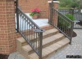 home depot interior stair railings prefab stairs outdoor home depot wrought iron railings home depot