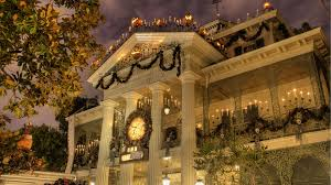 disneyland halloween mansion wallpaper 1920x1080