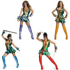 Ninja Turtle Womens Halloween Costumes Teenage Mutant Ninja Turtles Women U0027s Halloween Costume