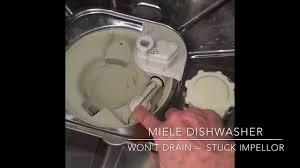 Kitchen Sink Gurgles When Sump Pump Runs by Miele Dishwasher Won U0027t Drain 5 Minute Fix Youtube
