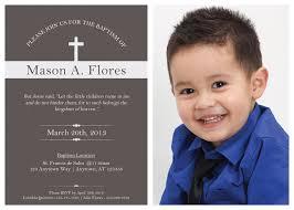 Sample Baptismal Invitation Cards Baptism Invites Baptism Invites Boy Baptism Vitations