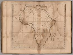 Blank Map Of Africa by L Untitled Outline Map Of Africa David Rumsey Historical Map