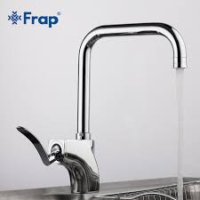 kitchen faucet outlet frap kitchen sink faucet cold and water mixer tap 360 degree