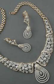 set diamond diamond earrings w detachable sapphire drops delavega