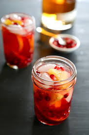 bourbon pomegranate sangria climbing grier mountain