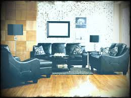 Black Livingroom Furniture Contemporary Living Room Furniture Sets With Elegant Leather Sofa