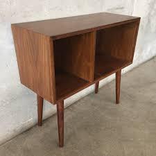 Mid Century Record Cabinet by Mid Century Style Walnut Record Cabinet U2013 Urbanamericana
