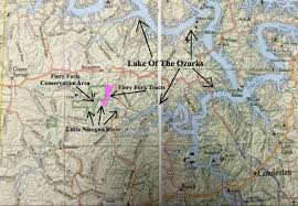 Ozarks Map Instant Acres Parcels Tract 24 At Fiery Fork Ridge River Frontage