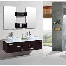 Bathroom Vanity Ls Kokols 60 Inch Wall Mount Floating Bathroom Vanity Cabinet Combo