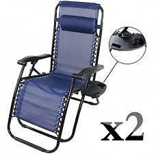 Zero Gravity Patio Chairs by Foldable Zero Gravity Chairs Lounges Ebay