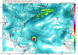 Mexico Hurricane Map by Tropical Storm Irma Forms In East Atlantic Miami Herald
