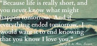 good morning hope quote quotes from happy to be alive because the who loved to