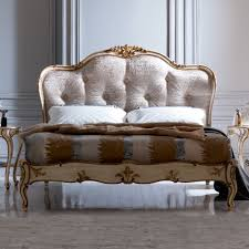 Italian Luxury Bedroom Furniture by Italian Designer Button Upholstered Winged Bed At Juliettes