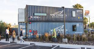 1st shipping container apartments in phoenix open for viewing