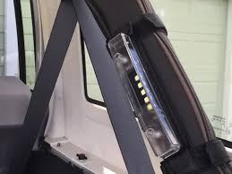 roll bar mount led light roll bar mounted 5 led light that is removable bright and easy to