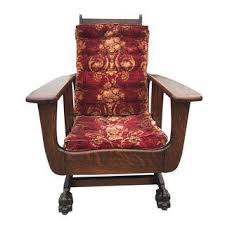 Mission Style Rocking Chair Gently Used U0026 Vintage Mission Furniture For Sale At Chairish