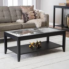 glass top end table with drawer espresso coffee table glass top coffee tables with storage coffeetablesmartin