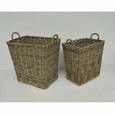 gray wicker baskets wholesale best price from rattan cirebon