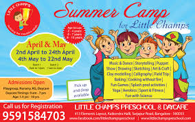 summer for kids bangalore archives blog little champs