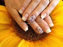 eye candy nails u0026 training full set of acrylic nails with white