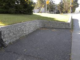 home design cinder block retaining wall foundation backyard fire