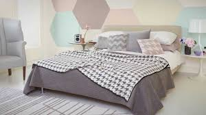 how to create a striking hexagonal paint design with dulux youtube
