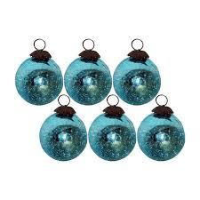Glass Christmas Ornament Sets - giftbay 139 s 6 glass christmas tree ornament set of 6 pcs an antiqu