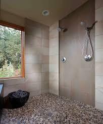chic pebble stone flooring novalinea bagni interior fabulous