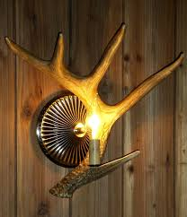 Antler Wall Sconce Vintage Wall Sconces Plastic Promotion Shop For Promotional
