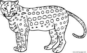 animal cheetah print out s3296 coloring pages printable