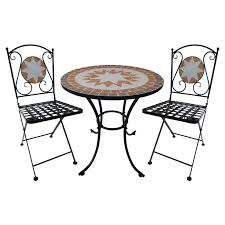 Tile Bistro Table Mosaic Tile Furniture Chic Bistro Settings Outdoor Furniture