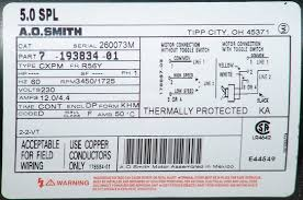 ao smith 2 speed motor wiring diagram gooddy org