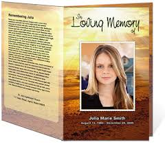 printable funeral programs memorial website template template design