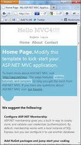 first look at asp net mvc 4 templates dotnetexpertguide com